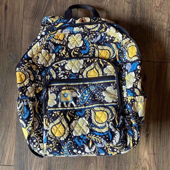 Vera Bradley Elephant Book Bag